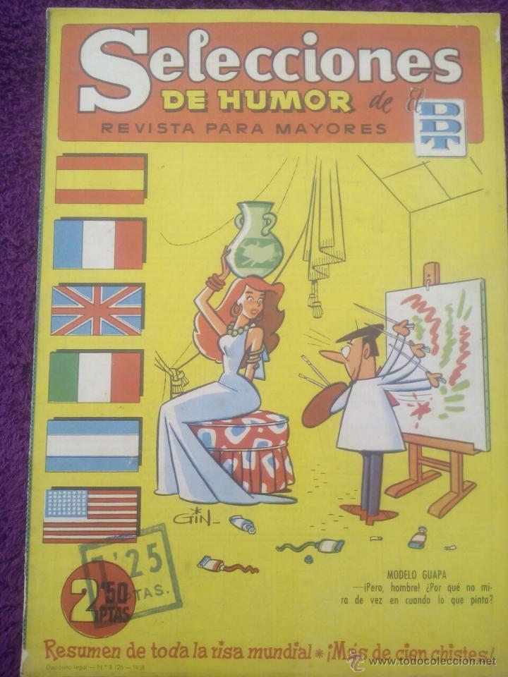 SELECCIONES DE HUMOR DE EL DDT Nº 86 / 1958 (Tebeos y Comics - Bruguera - DDT)