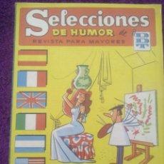 Tebeos: SELECCIONES DE HUMOR DE EL DDT Nº 86 / 1958. Lote 50627646