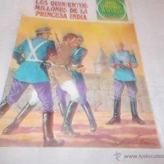Tebeos: JOYAS LITERARIAS JUVENILES Nº 211 LOS QUINIENTOS MILLONES DE LA PRINCESA INDIA. Lote 50643814
