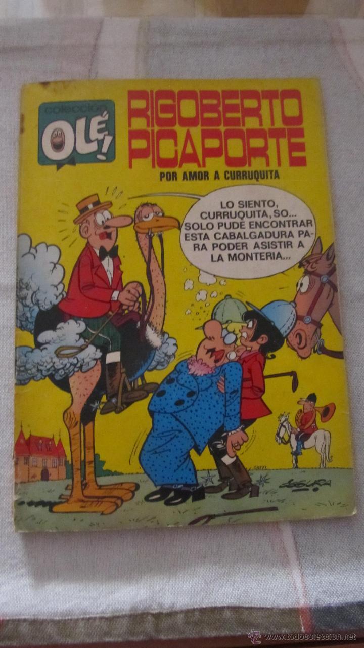 M69 TEBEO COLECCION OLE NUMERO 34 RIGOBERTO PICAPORTE 1º EDICION COMPLETO DIFICIL (Tebeos y Comics - Bruguera - Ole)