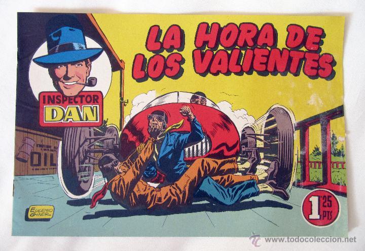 EL INSPECTOR DAN - LA HORA DE LOS VALIENTES - Nº 17 - BRUGUERA (Tebeos y Comics - Bruguera - Inspector Dan)