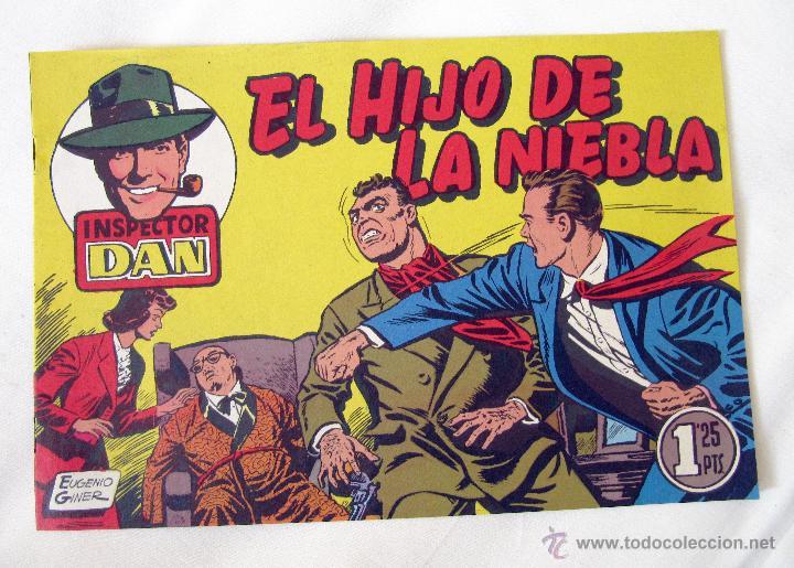 EL INSPECTOR DAN - EL HIJO DE LA NIEBLA - Nº 13 - BRUGUERA (Tebeos y Comics - Bruguera - Inspector Dan)