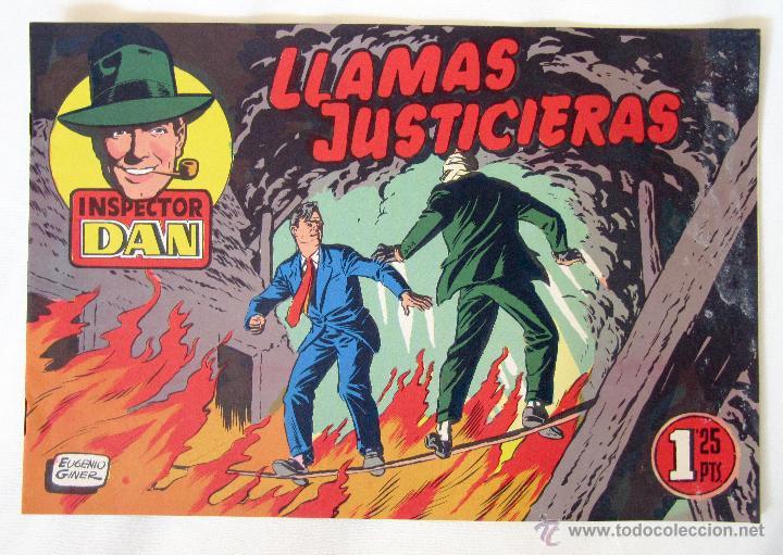 EL INSPECTOR DAN - LLAMAS JUSTICIERAS - Nº 15 - BRUGUERA (Tebeos y Comics - Bruguera - Inspector Dan)