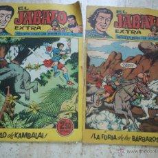 Tebeos: 2 COMICS EL JABATO ANTIGUOS. Lote 50748711