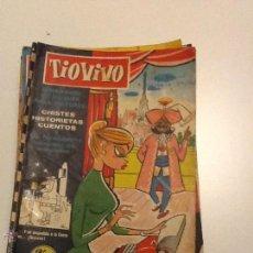 Tebeos: LOTE DE 32 COMICS TIO VIVO-TIOVIVO. Lote 50766395