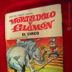 Tebeos: MORTADELO Y FILEMON - ELCIRCO - ASES DEL HUMOR 27 - IBAÑEZ - CARTONE. Lote 50915739