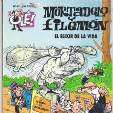 Tebeos: 1 COMIC - AÑOS 2000 - MORTADELO Y FILEMON - OLE - Nº 67 - EL ELIXIR DE LA VIDA. Lote 50918210