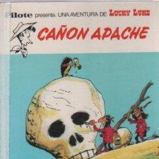 Tebeos: LUCKY LUKE. CAÑON APACHE. EDITORIAL BRUGUERA. PILOTE. Lote 50938977