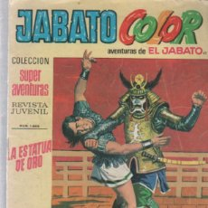 Tebeos: JABATO COLOR. 41. COLECCION SUPER AVENTURAS. 1686. LA ESTATUA DE ORO. BRUGUERA. Lote 50954823