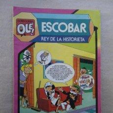 Tebeos: ESCOBAR, REY DE LA HISTORIETA OLE Nº 297 BRUGUERA 1ª EDICION 1985. Lote 50966932