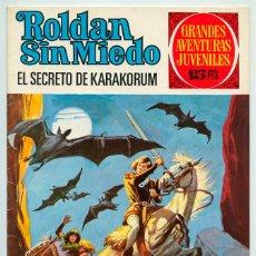 Tebeos: GRANDES AVENTURAS JUVENILES - Nº 58 - ROLDÁN SIN MIEDO - EL SECRETO DE KARAKORUM - BRUGUERA - 1973. Lote 50975193