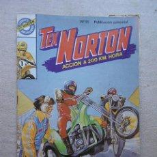 Tebeos: TEX NORTON Nº 11 RECORD EN HOLLYWOOD / BRUGUERA 1985 CHRIS LEAN. Lote 50994597
