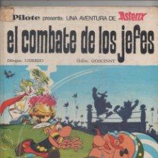 Tebeos: ASTERIX. EL COMBATE DE LOS JEFES.1 ª EDICION. PILOTE - BRUGUERA 1969.DA. Lote 50999359
