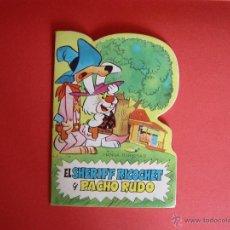Tebeos: TEBEO: SHERIFF RICOCHET (BRUGUERA, 1971) MINI-TROQUELADO ¡ORIGINAL! A COLOR. Lote 51014376