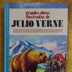 Tebeos: GRANDES OBRAS ILUSTRADAS DE JULIO VERNE. EDITORIAL BRUGUERA, 1ª EDICION 1978. TAPA DURA. A TODO COLO. Lote 103481438