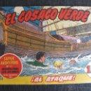 Tebeos: EL COSACO VERDE Nº 34 BRUGUERA. Lote 51043354