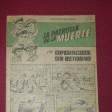 Tebeos: TEBEOS-COMICS GOYO - CUADERNOS HEROES - Nº 1 - LA PATRULLA DE LA MUERTE - 1964 **BB99. Lote 40664739