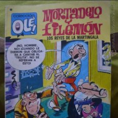 Tebeos: MORTADELO Y FILEMON - OLE 163 - LOS REYES DE LA MARTINGALA - IBAÑEZ - 1 EDICION 16.10.1978 -BRUGUERA. Lote 51188022