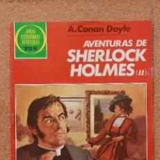 Tebeos: JOYAS LITERARIAS JUVENILES - A. CONAN DOYLE - AVENTURAS DE SHERLOCK HOLMES (II). Lote 51191080
