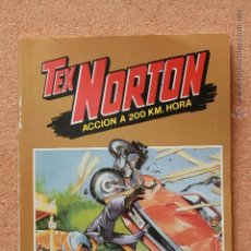 Tebeos: TEX NORTON - ACCIÓN A 200 KM/HORA - SELECCIÓN. Lote 51191249