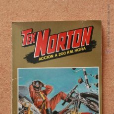 Tebeos: TEX NORTON - ACCIÓN A 200 KM/HORA - SELECCIÓN. Lote 51191258