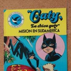 Tebeos: JOYAS LITERARIAS FEMENINAS - CATY - LA CHICA GATO - MISION SUDAMERICA - Nº 99 - AÑO 1984. Lote 51199641