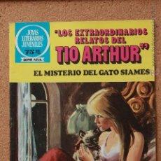 Tebeos: JOYAS LITERARIAS JUVENILES - SERIE AZUL - LOS EXTRAORDINARIOS RELATOS DEL TIO ARTHUR - Nº 87. Lote 51199996