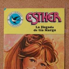 Tebeos: JOYAS LITERARIAS FEMENINAS - ESTHER - LA LLEGADA DE TÍA MARGA - Nº 103. Lote 51200010
