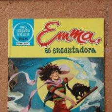 Tebeos: JOYAS LITERARIAS JUVENILES - SERIE AZUL - EMMA - ES ENCANTADORA - Nº 83. Lote 51200189
