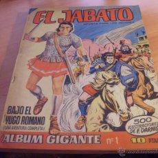 Tebeos: LOTE JABATO ALBUM GIGANTE Nº 1, 2, 3, 4, 5, 6, 7, 8, 9 Y 10 (ORIGINAL BRUGUERA) (CLA17). Lote 51209065