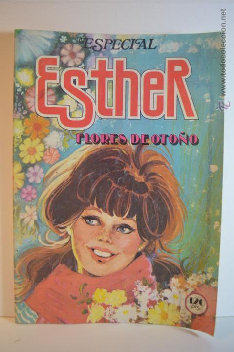 ESPECIAL ESTHER 28 - FLORES DE OTOÑO - 1983 - BRUGUERA - PURITA CAMPOS (Tebeos y Comics - Bruguera - Esther)