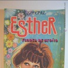 Tebeos: ESPECIAL ESTHER 28 - FLORES DE OTOÑO - 1983 - BRUGUERA - PURITA CAMPOS. Lote 128736887