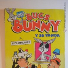 Tebeos: BUGS BUNNY Y SU PANDA - ¡ VIVA LA ALEGRIA ! - OLE 7 - 1 EDICION - 1984. Lote 51224034
