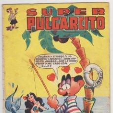 Tebeos: SUPER PULGARCITO Nº 4. BRUGUERA 1949. RARO.. Lote 51232367
