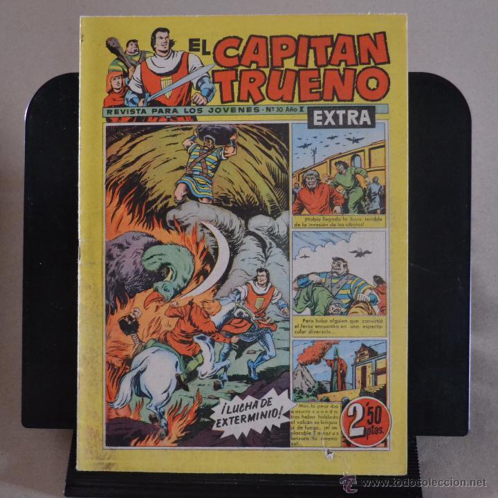 EL CAPITAN TRUENO EXTRA, Nº 30, AÑO I. BRUGUERA 1960. LITERACOMIC. (Tebeos y Comics - Bruguera - Capitán Trueno)