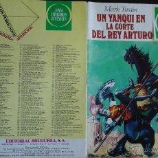 Tebeos: CÓMIC BRUGUERA JOYAS LITERARIAS 5 MARK TWAIN UN YANQUI EN LA CORTE DEL REY ARTURO JMA.C. Lote 51246198
