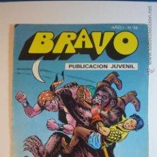 Tebeos: BRAVO 25 - EL CACHORRO 13 - SOBRE EL ABISMO - 1976 - BRUGUERA. Lote 51252716