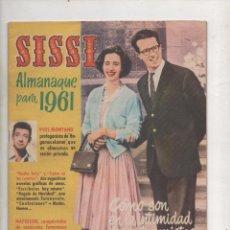Tebeos: SISSI ALMANAQUE PARA 1961. BRUGUERA.DA. Lote 51320531