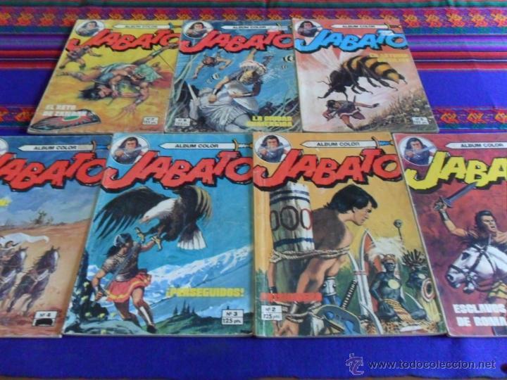 JABATO COLOR EXTRA 4ª ÉPOCA ALBUM NºS 1(2) 2(3) 3 4(4) 5 6(2) 7(3) 9(2) 11. BRUGUERA 1980. SUELTOS (Tebeos y Comics - Bruguera - Jabato)