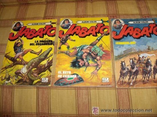 Tebeos: JABATO COLOR EXTRA 4ª ÉPOCA ALBUM NºS 1(2) 2(3) 3 4(4) 5 6(2) 7(3) 9(2) 11. BRUGUERA 1980. SUELTOS - Foto 2 - 51332664