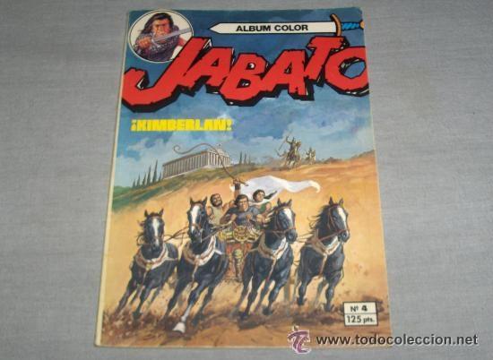 Tebeos: JABATO COLOR EXTRA 4ª ÉPOCA ALBUM NºS 1(2) 2(3) 3 4(4) 5 6(2) 7(3) 9(2) 11. BRUGUERA 1980. SUELTOS - Foto 3 - 51332664