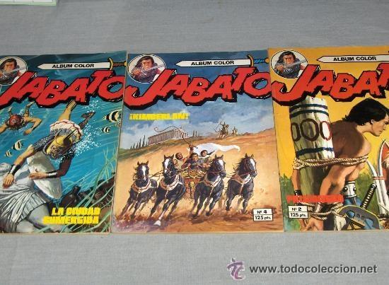 Tebeos: JABATO COLOR EXTRA 4ª ÉPOCA ALBUM NºS 1(2) 2(3) 3 4(4) 5 6(2) 7(3) 9(2) 11. BRUGUERA 1980. SUELTOS - Foto 4 - 51332664