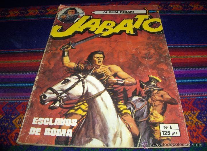 Tebeos: JABATO COLOR EXTRA 4ª ÉPOCA ALBUM NºS 1(2) 2(3) 3 4(4) 5 6(2) 7(3) 9(2) 11. BRUGUERA 1980. SUELTOS - Foto 5 - 51332664