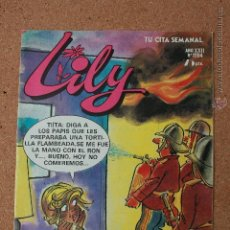 Tebeos: LILY - TU CITA SEMANAL - Nº 1204 - AÑO XXII - ABRIL 1985-POSTER CENTRAL BOY GEORGES. Lote 51340398