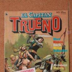 Tebeos: EL CAPITAN TRUENO - Nº 2 - AÑO I - 1ª ÉPOCA - MARZO DE 1986. Lote 51341023