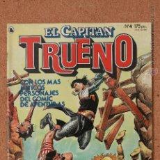 Tebeos: EL CAPITAN TRUENO - Nº 4 - AÑO I - 1ª ÉPOCA - ABRIL DE 1986. Lote 51341112