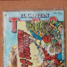 Tebeos: EL CAPITAN TRUENO - Nº 6 - AÑO I - 1ª ÉPOCA - 1986 - REGALO COLECCION ORIGINAL ED FACSIMIL Nº 1. Lote 51341179