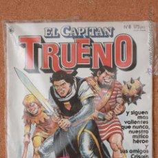 Tebeos: EL CAPITAN TRUENO - Nº 8 - AÑO I - 1ª ÉPOCA - 1986 - REGALO COLECCION ORIGINAL ED FACSIMIL Nº 3. Lote 51341404