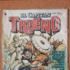 Tebeos: EL CAPITAN TRUENO - Nº 9 - AÑO I - 1ª ÉPOCA - 1986 - REGALO COLECCION ORIGINAL ED FACSIMIL Nº 4. Lote 51341440