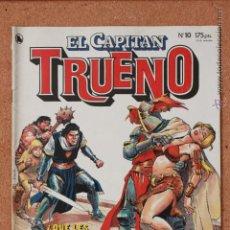 Tebeos: EL CAPITAN TRUENO - Nº 10 - AÑO I - 1ª ÉPOCA - MAYO DE 1986. Lote 51341476